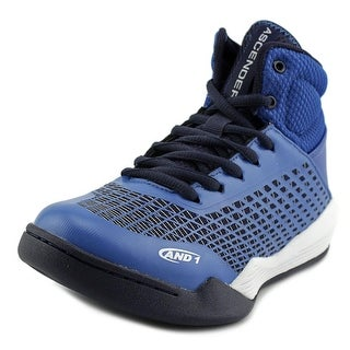 And1 Ascender Youth  Round Toe Synthetic Blue Basketball Shoe