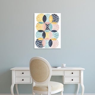 Easy Art Prints Grace Popp's 'Deluge I' Premium Canvas Art