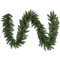 "9' x 12"" Eastern Pine Artificial Christmas Garland - Unlit - Green"