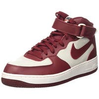 Nike Mens Air Force 1 Mid 07 Leather Hight Top Lace Up Basketball Shoes