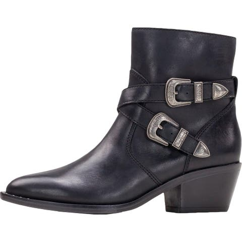 Patricia Nash Womens Sandra Ankle Boots Leather Booties