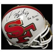 Signed Kaepernick Colin San Francisco 49ers Colin Kaepernick San Francisco 49ers Authentic Riddell