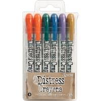Tim Holtz Distress Crayon Set-Set #9