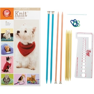 I Taught Myself To Knit Pet Clothes-