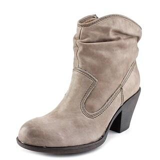 Montana Daron Women Round Toe Leather Boot