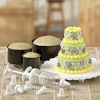 Link to 14 PC Total, Cake Pan Set with Decorating Accessories - Multi Similar Items in Bakeware