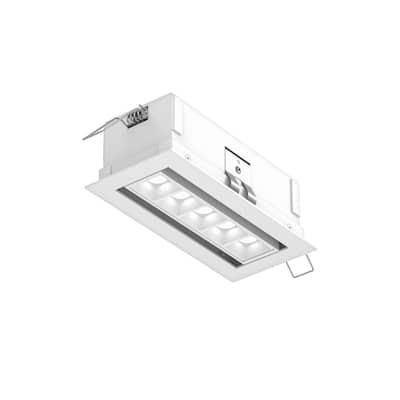 DALS Lighting 5 Light Micro spot Adjustable LED Recessed Down Light