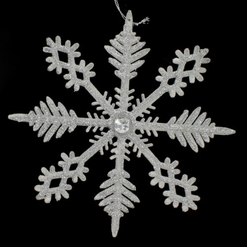 Silver Jewel Snowflake