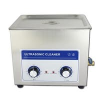 10.8L  Professional Ultrasonic Cleaner Machine with mechanical Timer Heated  Stainless steel Cleaning tank 110V/220V