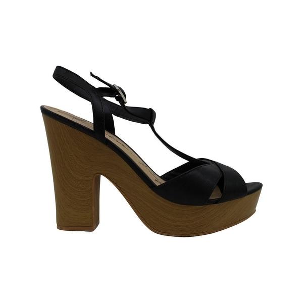 Peep Toe Casual T-Strap Sandals