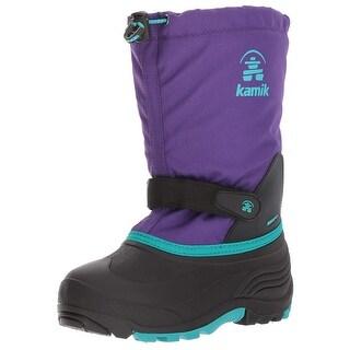 Kids Kamik Girls waterbug Mid-Calf Pull On Snow Boots