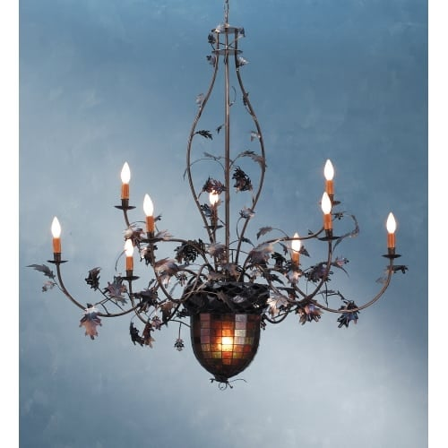 Shop meyda tiffany 69619 11 light up down lighting chandelier from meyda tiffany 69619 11 light up down lighting chandelier from the acorn amp oak aloadofball Image collections