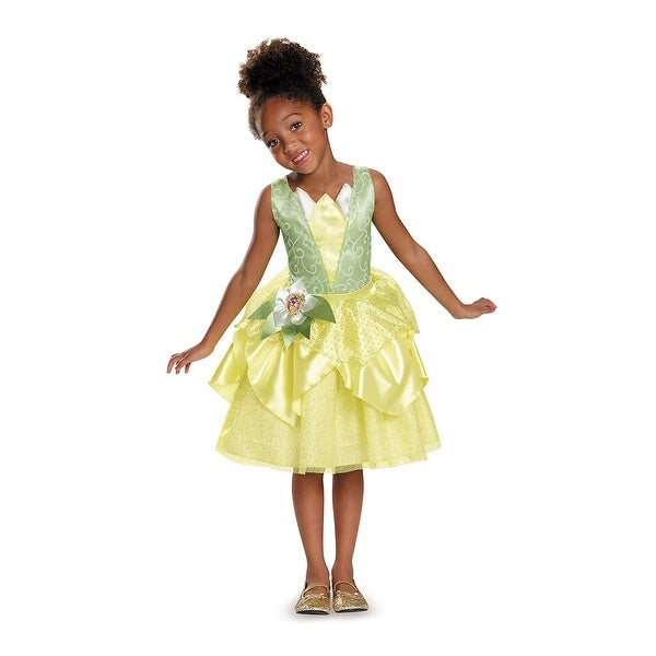 Girls Classic Tiana Disney Princess Costume