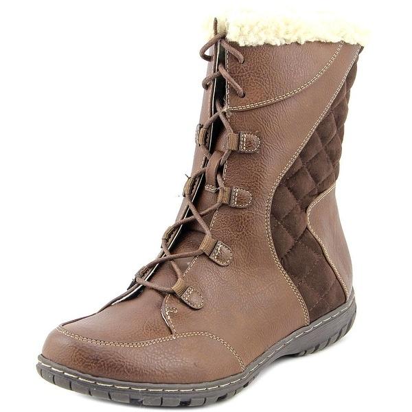 Naturalizer Romano Women Round Toe Synthetic Winter Boot