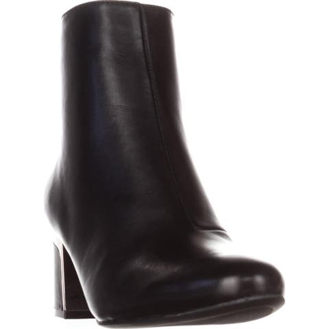 DKNY Corrie Ankle Boots, Black Leather