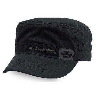 Harley-Davidson Women's Midnight Special B&S Painter's Cap, Black PC26430