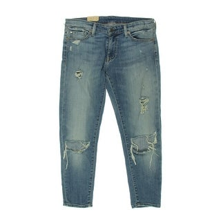 Denim & Supply Ralph Lauren Womens Cropped Jeans Skinny Cropped