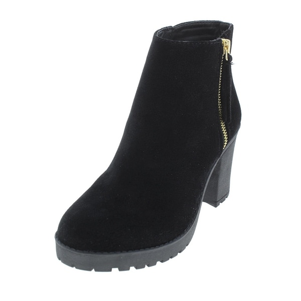 Shop Material Girl Damenschuhe Ellice Ankle ... Stiefel Platform Round Toe ... Ankle 547798