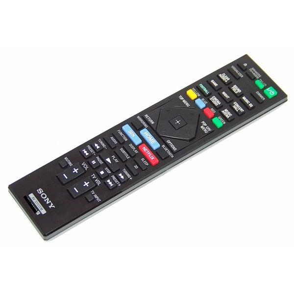 OEM Sony Remote Control Originally Shipped With: TASA500WR, TA-SA500WR, BDVN7200W, BDV-N7200W