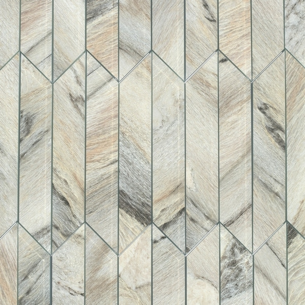 "Miseno MT-WHSWTJSET-CC Nature - 3-3/4"" x 11-3/4"" Other Wall Tile - Matte Visual - Taupe"