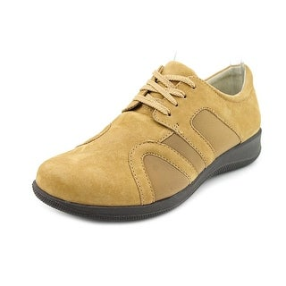 Softwalk Topeka N/S Round Toe Leather Sneakers
