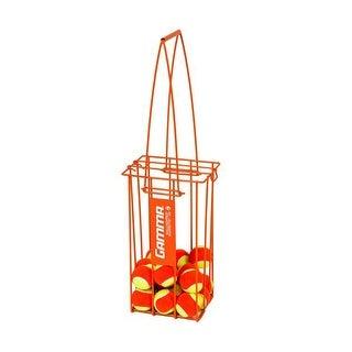 GAMMA Tennis Ball Hopper Hoppette 50 Balls Capacity - Balls Not Included -Orange