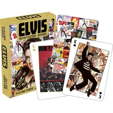 Elvis Presley Movie Posters Playing Cards - Multi