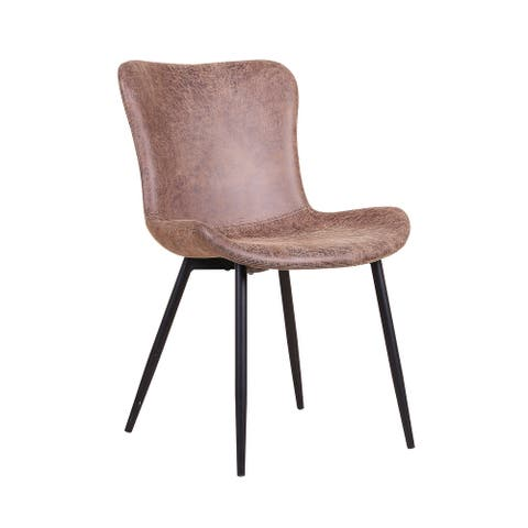 2pk Dining Chairs Leather