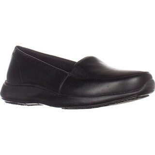 Dr. Scholls Lauri Slip On Work Loafers, Black