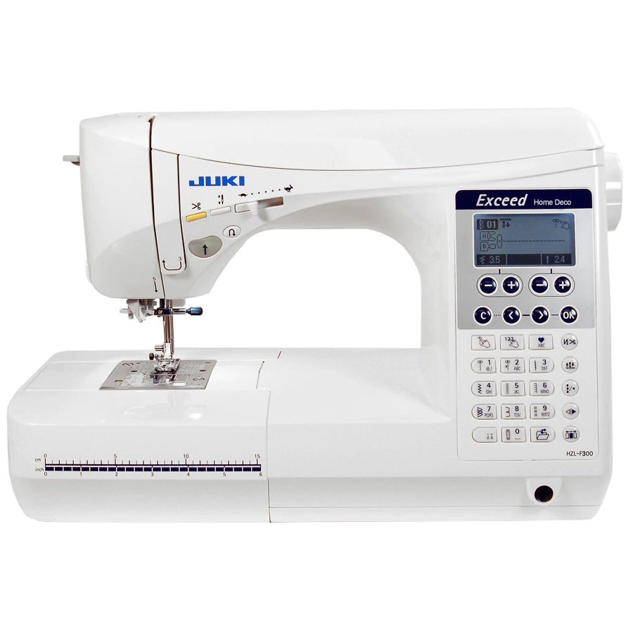 Juki HZL-F300 Exceed Home Deco Sewing & Quilting Machine (Computerized)