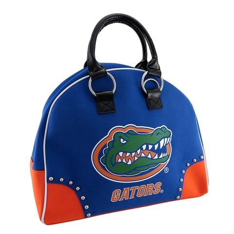 University of Florida Gators Structured Canvas Gym Bag - Blue