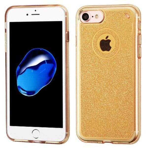 Insten Glittering TPU Rubber Candy Skin Glitter Case Cover For Apple iPhone 7