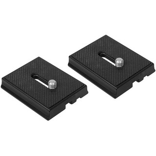 Quick Shoe Plate With 1/4-Inch Camera Screw and Pin for Alloy Ball Head VANGUARD SBH100 (Set of 2)