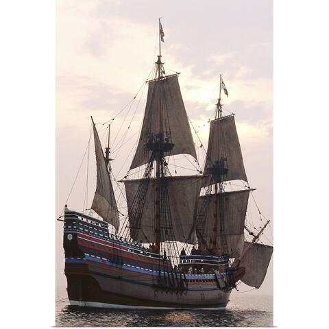 """Mayflower replica"" Poster Print"