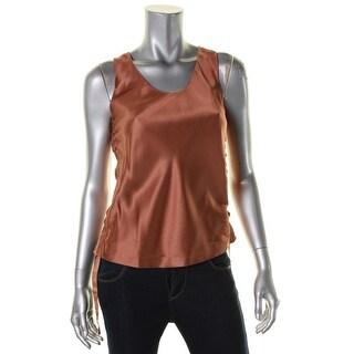 Helmut Lang Womens Casual Top Silk Sleeveless - xs