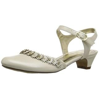 Nina Girls Dayanna Faux Leather Dress Shoes