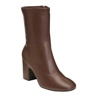 Aerosoles Women's Tall Grass Mid Calf Boot Brown Faux Leather