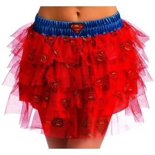 DC Comics Supergirl Tutu Costume Skirt Adult Standard
