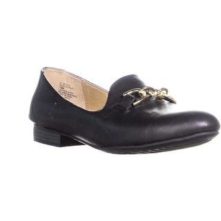 White Mountain Prue Slip On Loafers, Black - 10 us