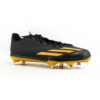 hot sale online edad8 eab68 Shop Adidas Mens Adizero Black/Gold/Gold Baseball Cleats Size 7.5 - Free  Shipping On Orders Over $45 - Overstock - 23132146