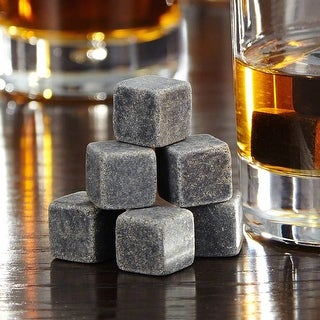 On the Rocks Whiskey Stones, Set of 9