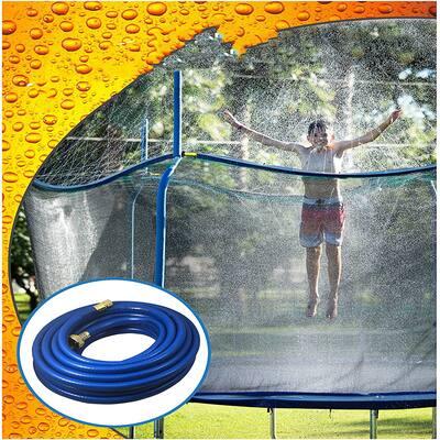 Trampoline Waterpark Heavy Duty Trampoline Sprinkler Hose - Trampoline Accessories Fun Summer Outdoor Water Game Toys