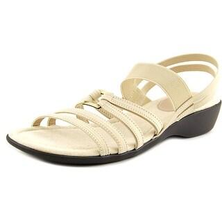 Life Stride Taurus Women Open Toe Canvas Gladiator Sandal