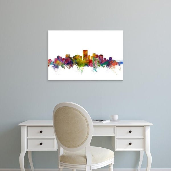 Easy Art Prints Michael Tompsett's 'Richmond Virginia Skyline' Premium Canvas Art