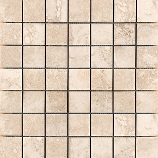 "Emser Tile F02HOME-1313MO2  Homestead - 2"" x 2"" Square Mosaic Floor and Wall Tile - Unpolished Stone Visual"