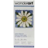"Wonderart Latch Hook Kit 12""X12""-Daisy"