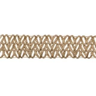 "Natural Jute Open Weave Ribbon 2"" x 10 Feet"