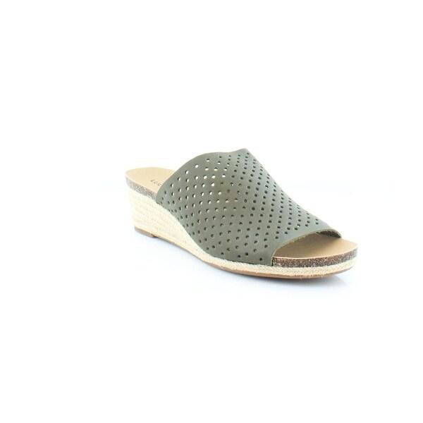 Lucky Brand Jemya Women's Sandals & Flip Flops Ivy Green