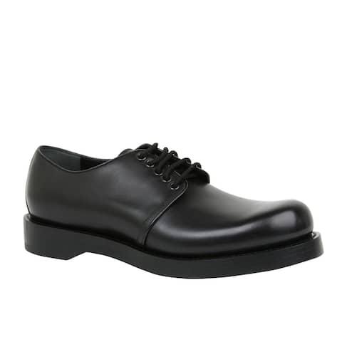 Gucci Men's Lace-up Black Leather Dress Shoes 358277 1000