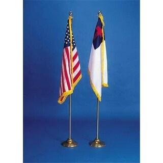 Broadman Holman 460530 Flag Set Christian & American 36X24
